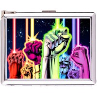 Blackest Night The Lanterns Cigarette Case with Lighter