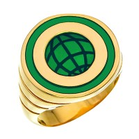 Captain Planet Silver Power Ring Jewelry