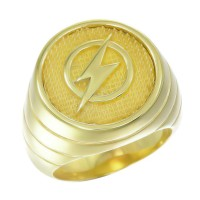 The Flash Inspired Ring Yellow Gold Plt Jewelry