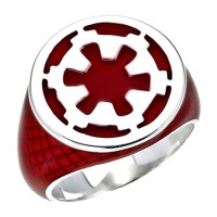 Galactic Empire Silver Ring Star Wars Inspired  Jewelry