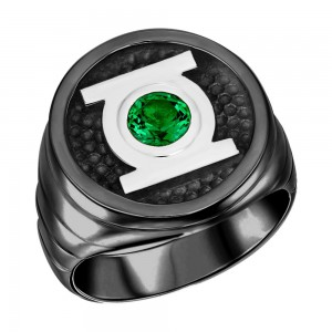 Green Lantern Inspired Ring Blackest Night Edition Jewelry