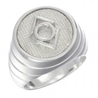Indigo Lantern Inspired Sterling Silver Ring Jewelry