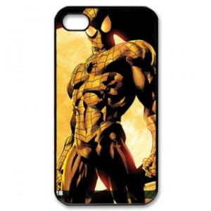 Spiderman Iphone 5 Phone Case Black Plastic I5C-5002