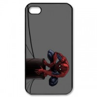 Spiderman Iphone 5 Phone Case Black Plastic I5C-5005