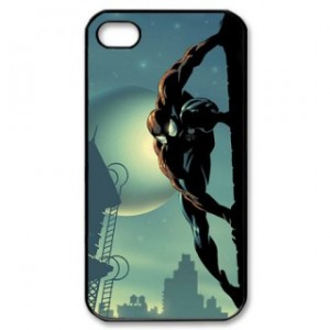 Spiderman Iphone 5 Phone Case Black Plastic I5C-5001