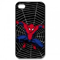 Spiderman Iphone 5 Phone Case Black Plastic I5C-5007