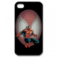 Spiderman Iphone 5 Phone Case Black Plastic I5C-5008