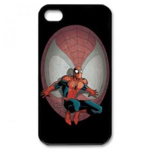 Spiderman Iphone 5 Phone Case Black Plastic I5C-5008
