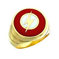 The Flash Inspired Silver Ring Showcase 4 Edition