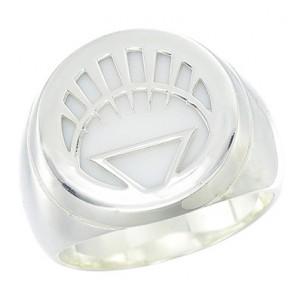 White Lantern Inspired Silver Ring Jewelry