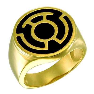 yellow lantern ring